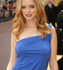 heathergraham nipples redcarpet 08