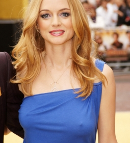 heathergraham nipples redcarpet 11