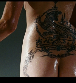 angelinajolie nude ass topless tattoo 01