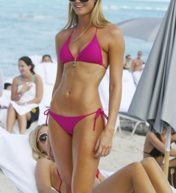 staceykeibler bikini outdoors blonde 10