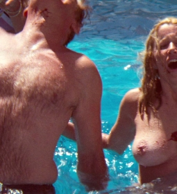 susannesommers bikini bigtits blonde outdoors topless 10