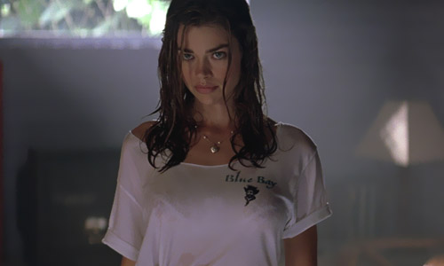 denise richards bares her big boobs